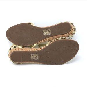Dolce Vita Shoes - Dolce Vita gold sandals size 10